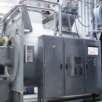 Energy saving and pollution control food processing equipment
