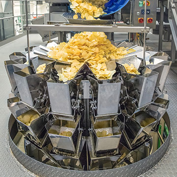 Ishida Multihead Weigher for Potato Chips & Snacks