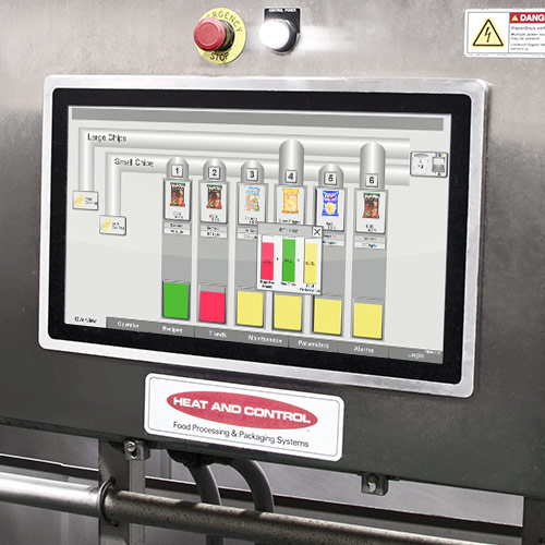 Controls systems for food processing and packaging