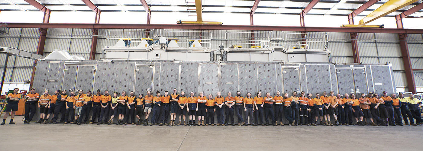 Heat and Control Australia Factory Team