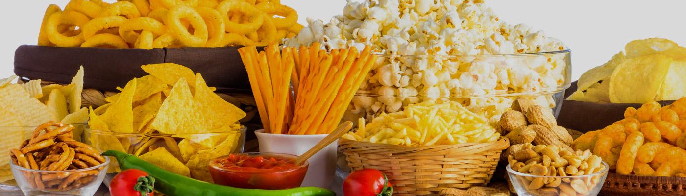Seasoned and Coated Snack Foods