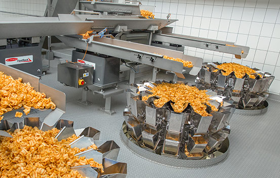 Integrated solutions for pellet snacks