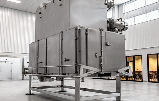 Rotary Dryer Roaster for nuts, jerky, meat/protein based snacks