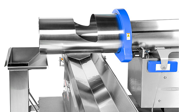 Horizontal motion conveying for food industry