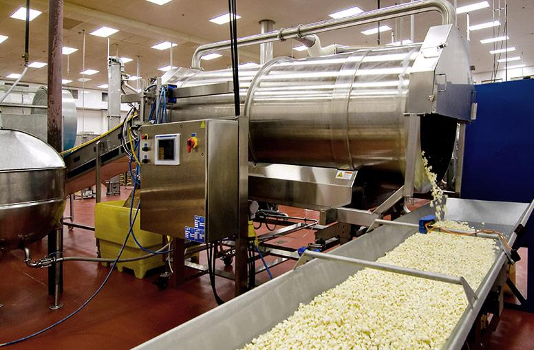 Spray Dynamics Two-Stage Coating System for Snacks