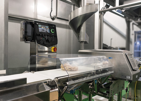 Checkweigher and Metal Detection for Prepared Foods