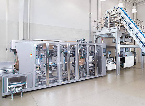 Integrated snack packaging systems