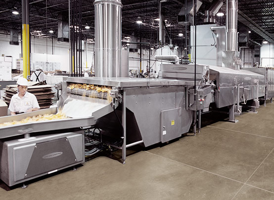 Corn products processing line