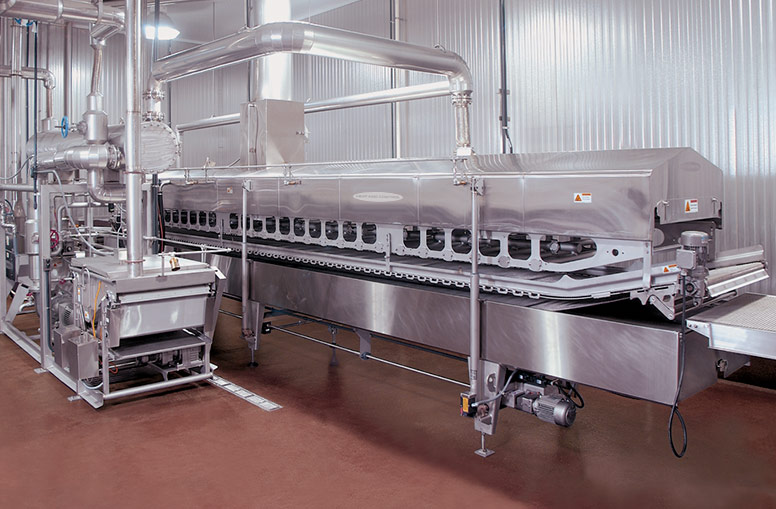 Breaded Products Fryer (BPF) with cover open