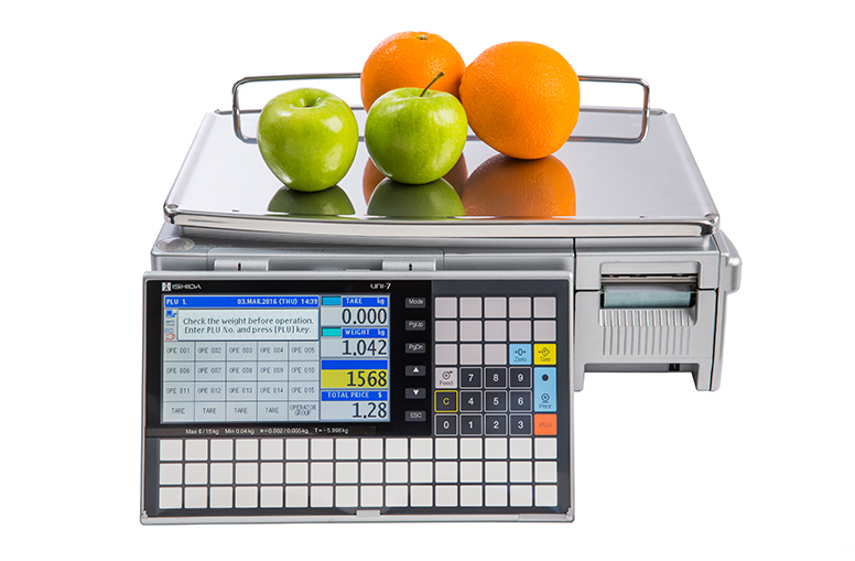 Uni 5 weigh labelling scale