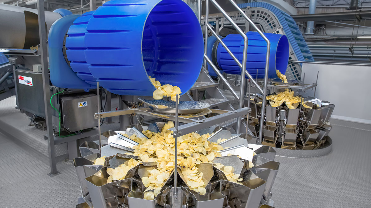 Potato Chip Processing & Packaging