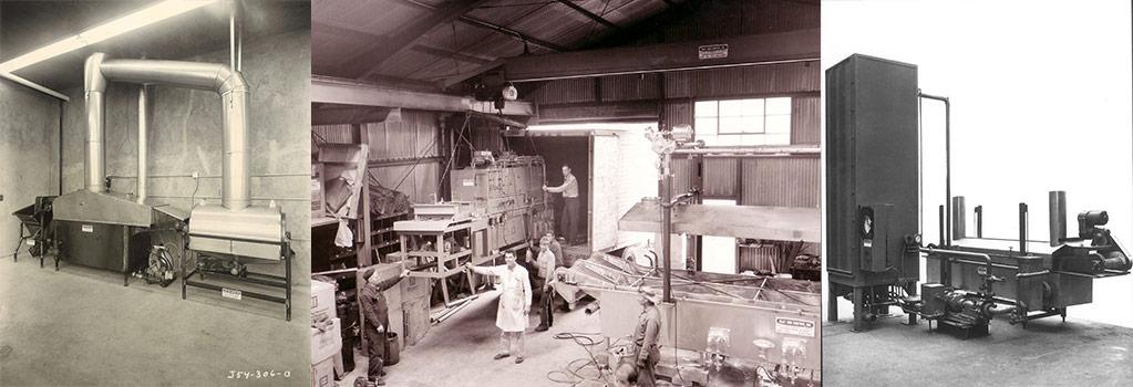 1950-1960 food industry focus