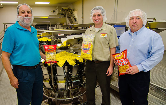 Brims Employees in Packaging Room