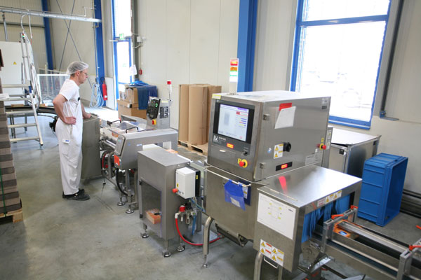 Ishida X-ray Systems for Cereal Inspection
