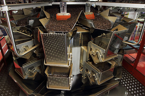 Ishida Multihead Weigher for Coffee