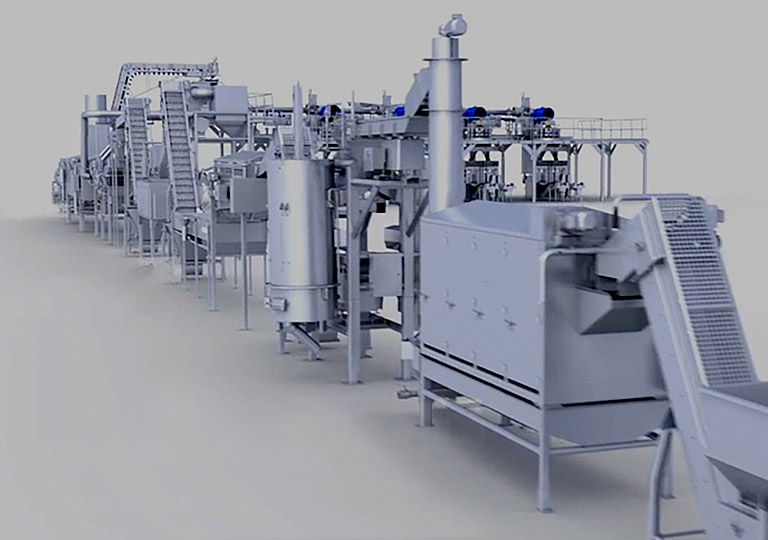 Complete Custom Food Processing & Packaging Lines