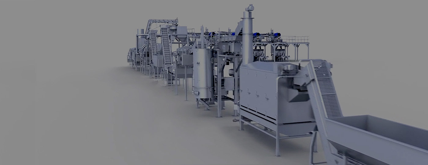 Custom Food Processing & Packaging Line Machinery