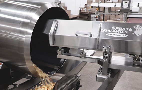 Spray Dynamics Food Seasoning and Coating Systems