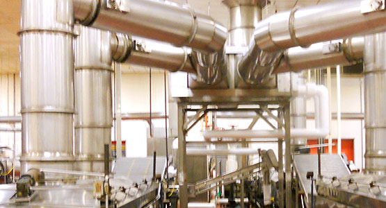 Energy Recovery Heat Exchanger reduces air pollution and water usage