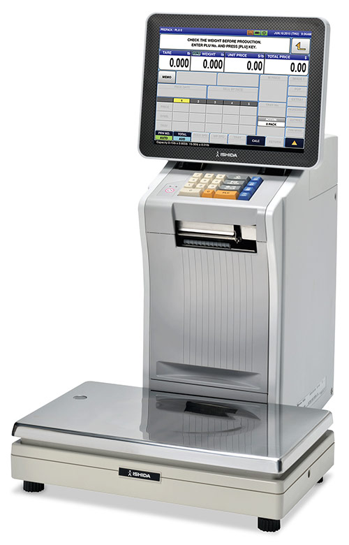 IP-AI label printing scale