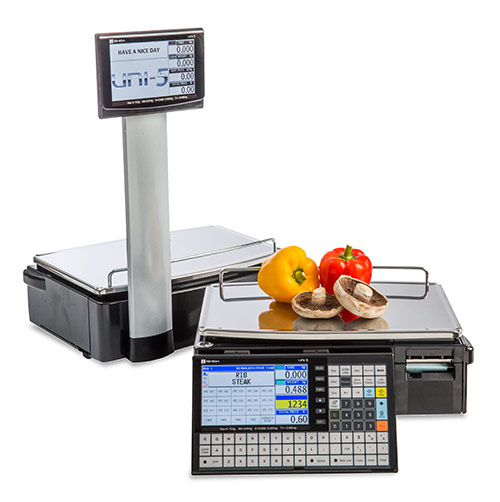 UNI-5 label printing scale