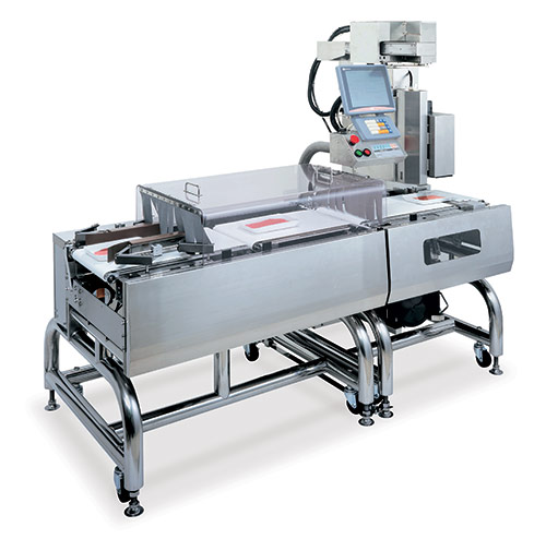 WPL-5000 high speed weigh price labeler and checkweigher