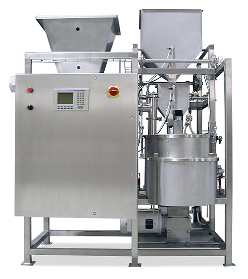 Spray Dynamics Centrifugal Batch Coating System