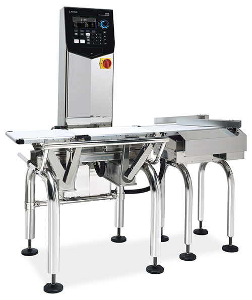 Ishida DACS-G/GN Series Checkweigher with arm rejection system