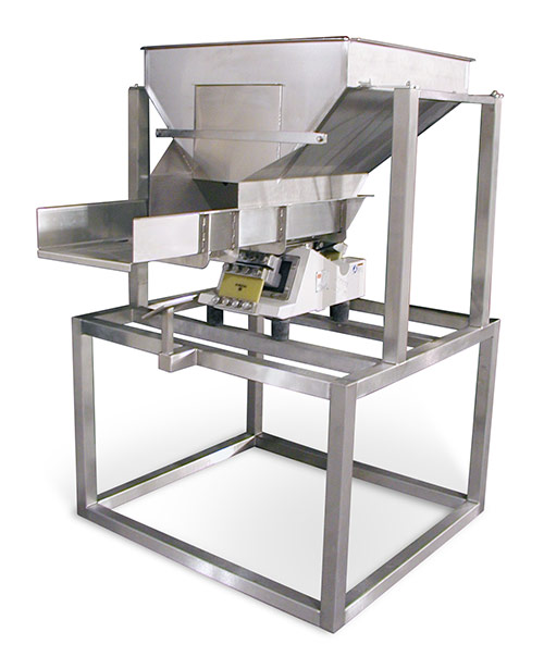 Spray Dynamics Volumetric Vibratory Base Product Feeder