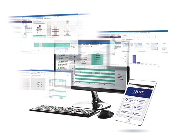 Ishida i-Fort Production Monitoring and Data Management Systems