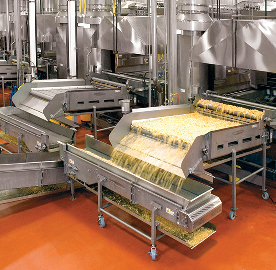 Batch frying equipment for snack foods