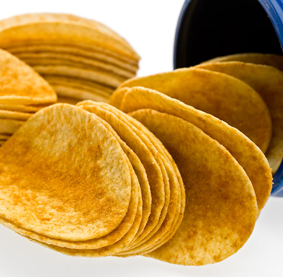 Stackable fabricated chips