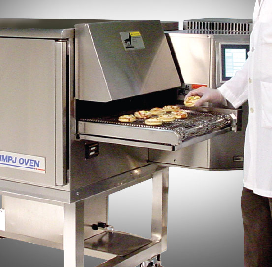 Economical oven for restaurant and food service kitchens