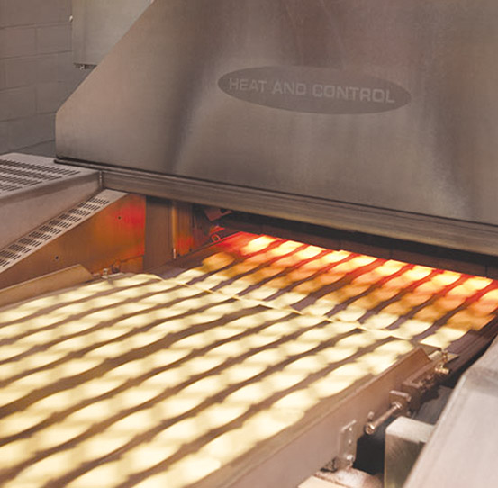 Tortilla processing and toasting equipment