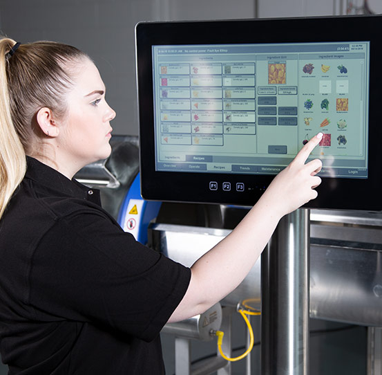 New Horizon Controls & Information System for Potato Chip Line