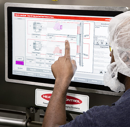 PLC Controls Systems for food processing and packaging lines
