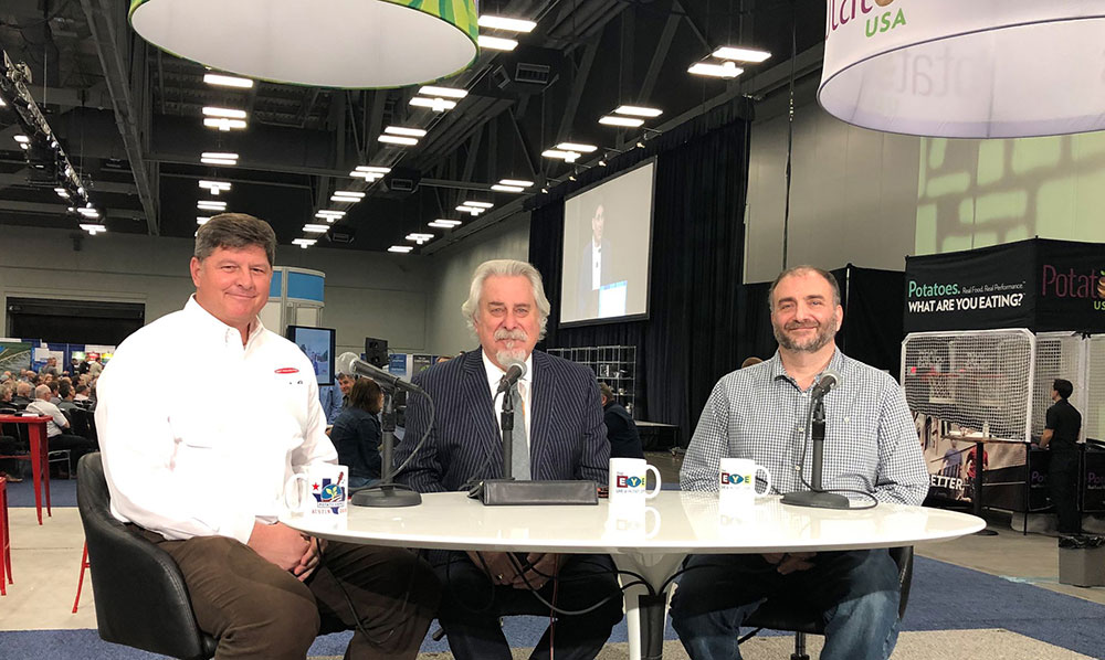Discussing potato chip solutions at Potato Expo 2019