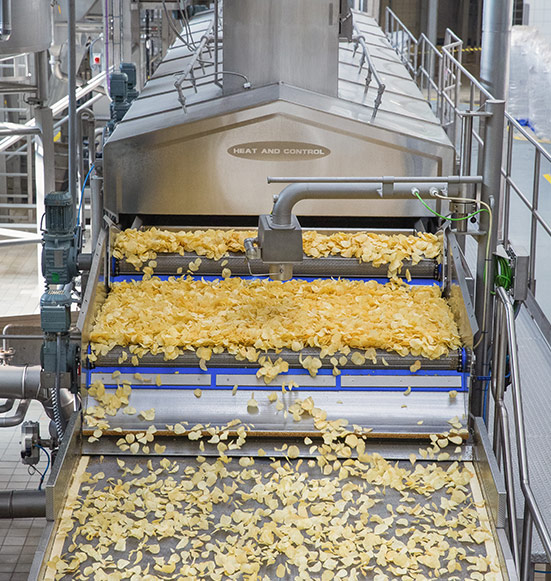 Potato Chip Production Machinery