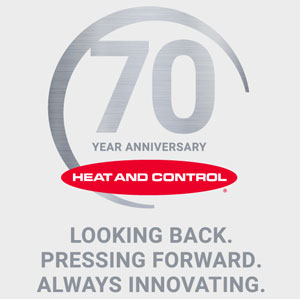 Heat and Control 70 Year Anniversary
