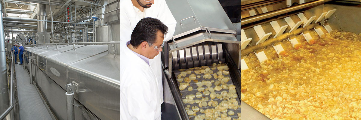 Industrial Chip Fryers
