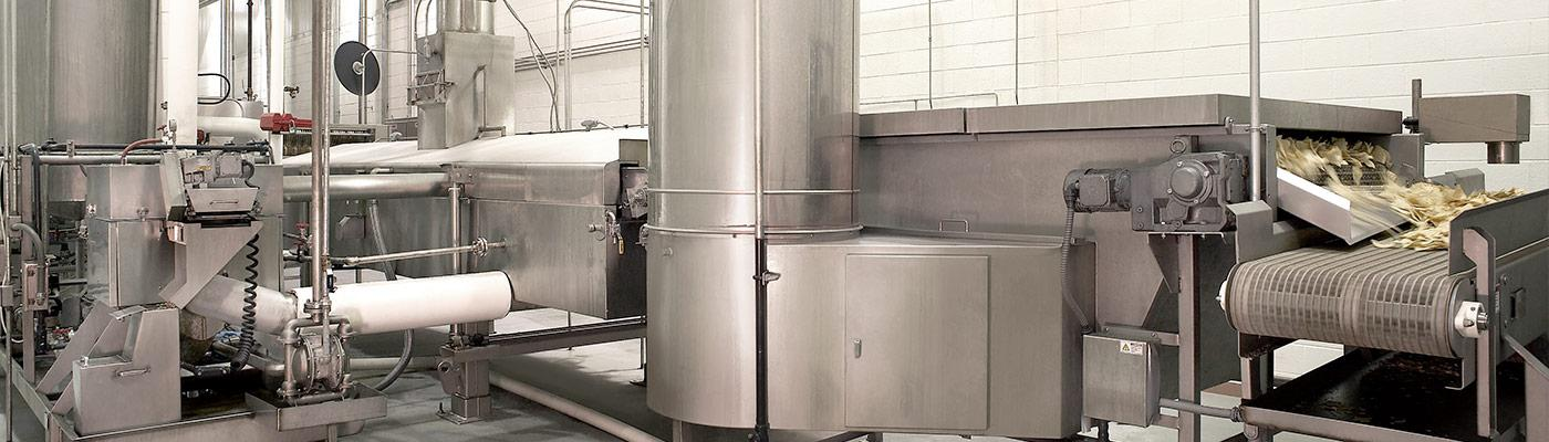 Cooling equipment for food processing