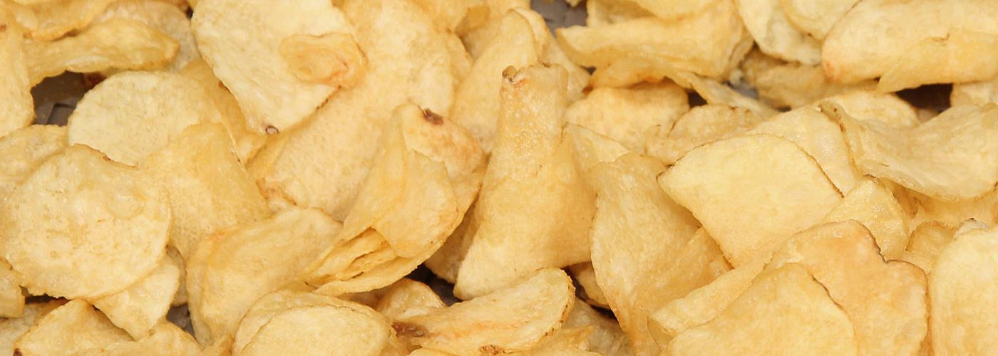 Kettle-style potato chips