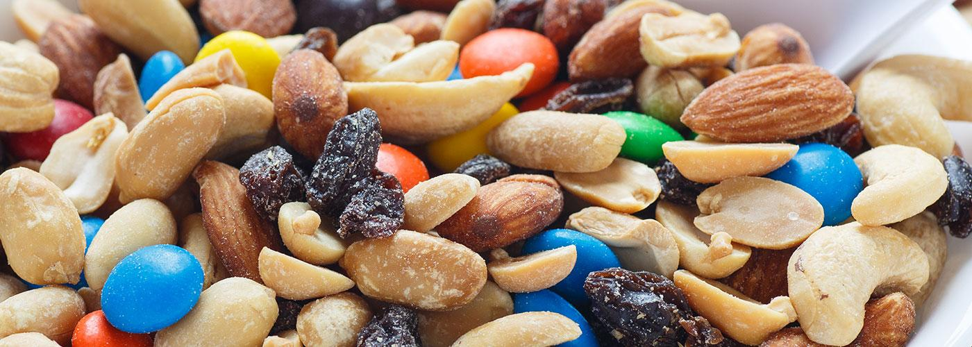Processing and blending mixed nuts