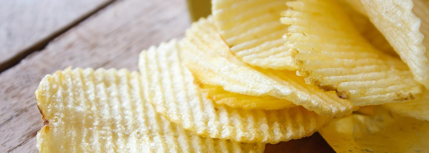Electroporation for crispier, healthier potato chips