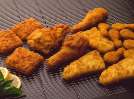 Increasing effective yield of breaded products