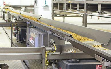 Conveying cereal with FastBack horizontal motion conveyors