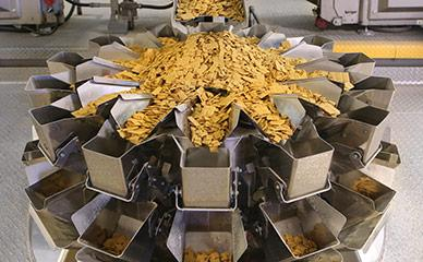 Weighing cereal on Ishida multihead weigher