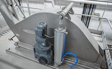 Electroporation equipment for potatoes