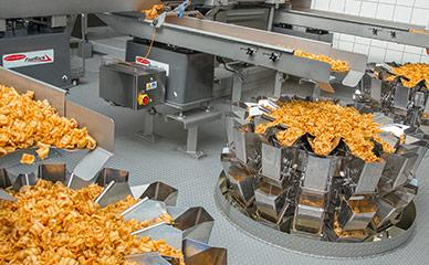Ishida weighing and packaging for pellet snacks