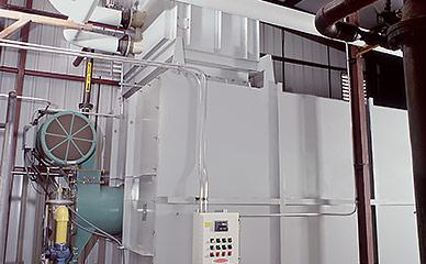 Energy saving systems for food processing and fryers